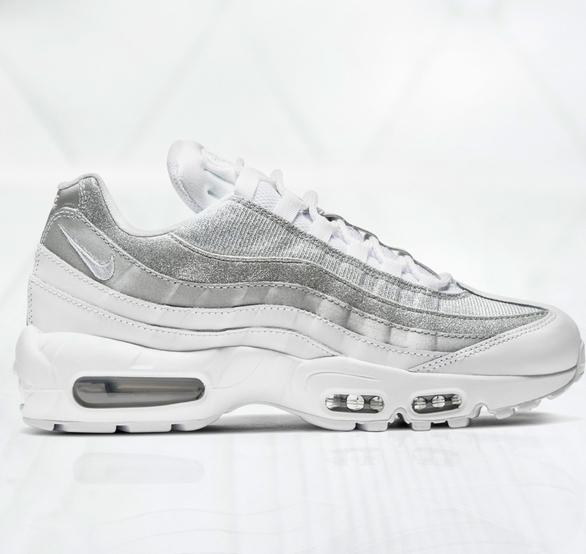 Buty sportowe Nike ze skóry air max 95