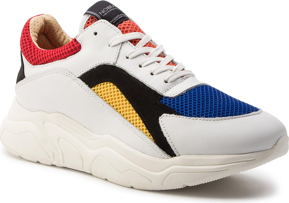 Buty sportowe Nobrand w sportowym stylu sznurowane