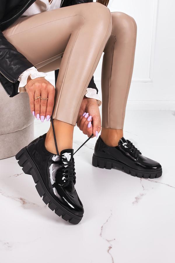 Buty sportowe Pro-moda sznurowane na platformie