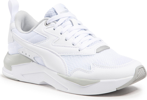 Buty sportowe Puma z płaską podeszwą w sportowym stylu ze skóry ekologicznej