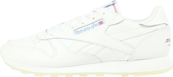 Buty sportowe reebok ze skóry z płaską podeszwą