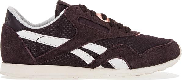 Buty sportowe Reebok z płaską podeszwą sznurowane
