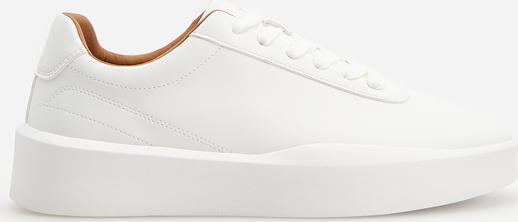 Buty sportowe Reserved sznurowane ze skóry