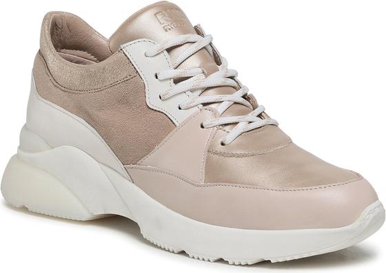 Buty sportowe Ryłko ze skóry na platformie