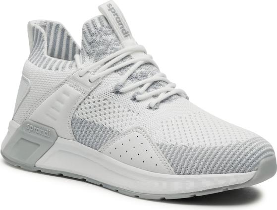 Buty sportowe Sprandi sznurowane ze skóry ekologicznej