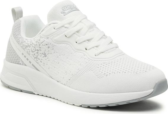 Buty sportowe Sprandi z płaską podeszwą sznurowane