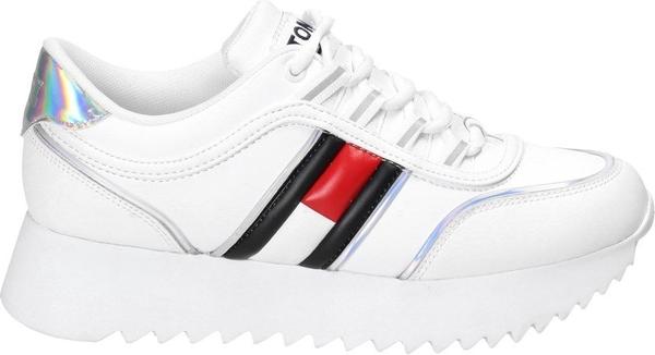 Buty sportowe Tommy Jeans ze skóry sznurowane