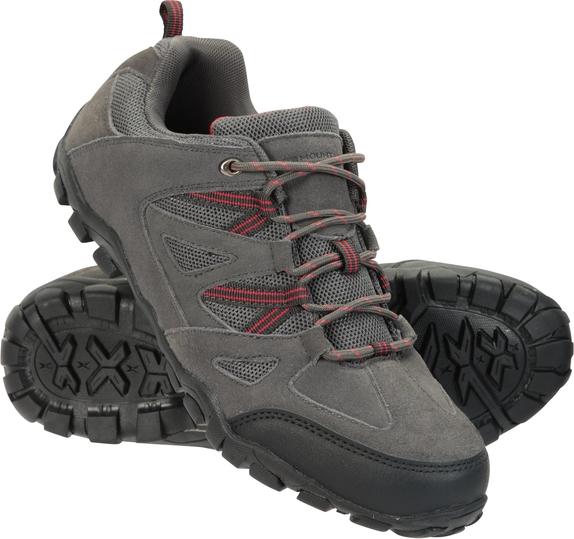 Buty trekkingowe Mountain Warehouse z zamszu sznurowane