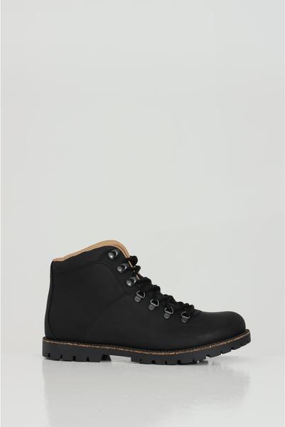 Buty zimowe Birkenstock ze skóry sznurowane