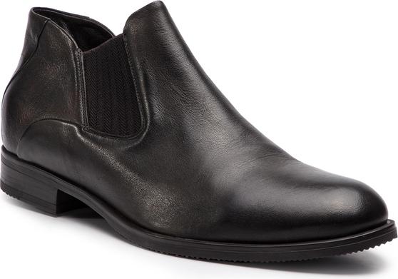 Buty zimowe Gino Rossi w stylu klasycznym ze skóry