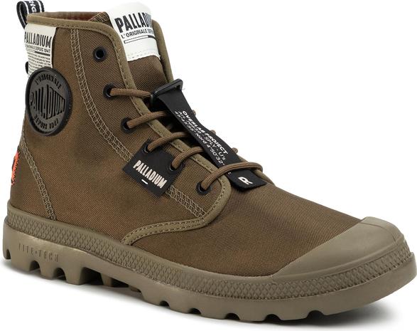 Buty zimowe Palladium sznurowane