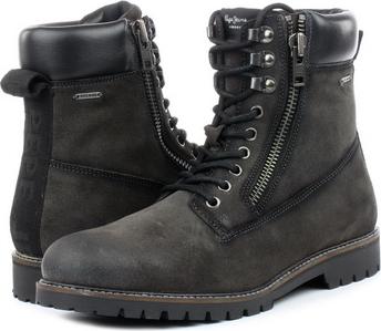 Buty zimowe Pepe Jeans sznurowane