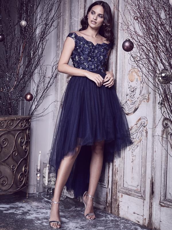 4d84e958a9 Chi london bronwyn sukienka wieczorowa midi tiul jpg 600x804 Midi tiul