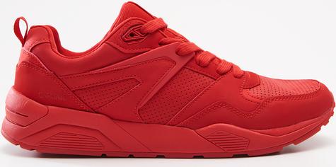 Cropp - Jednokolorowe sneakersy - Czerwony