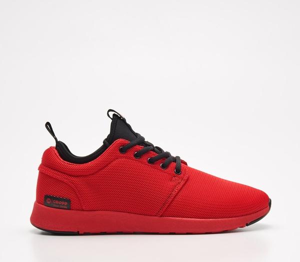 Cropp - Lekkie sneakersy - Czerwony