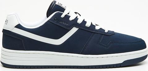 Cropp - Sznurowane sneakersy - Granatowy