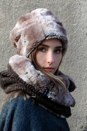 najlepszy Czapka CHAPOOSIE z bawełny w street stylu Akcesoria Damskie Czapki damskie CD PMELCD-2