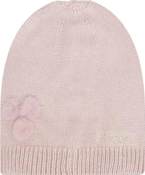 trwałe modelowanie RÓżowa czapka Liu-Jo Akcesoria Damskie Czapki damskie KM WGMOKM-8