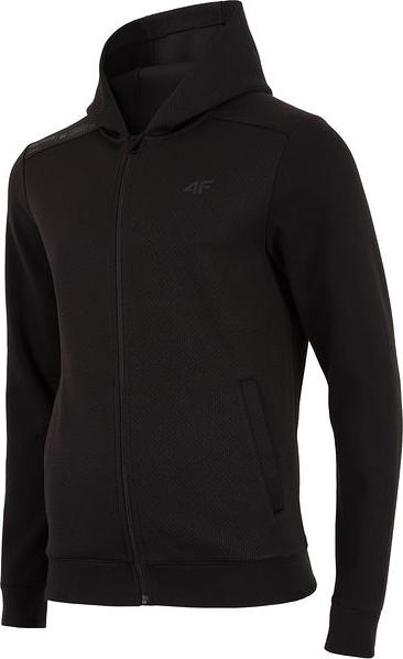 Czarna bluza 4F z dresówki