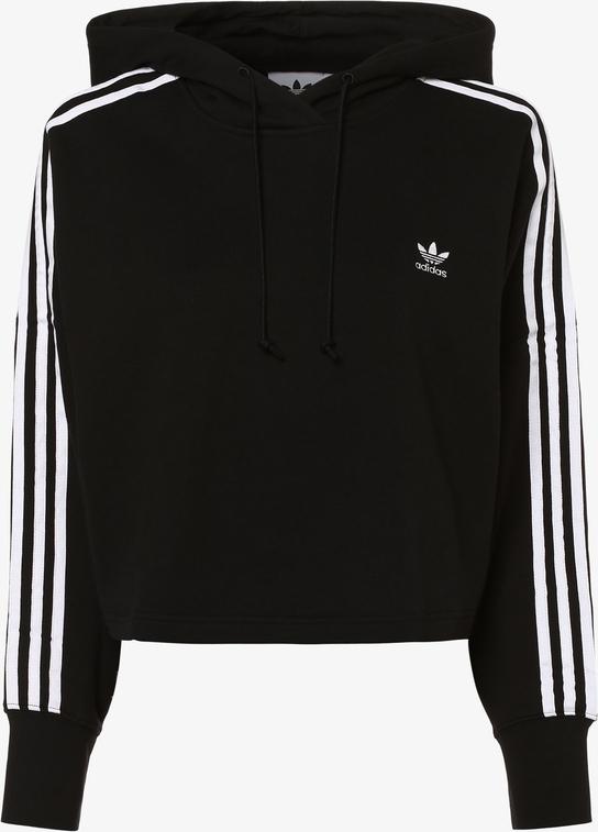 bluza sportowa damska ADIDAS HOODED CROP AJ6422