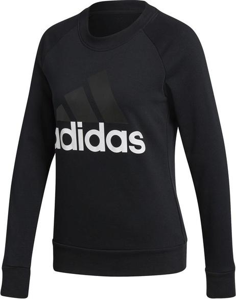 wylot Czarna bluza Adidas Odzież Damskie Swetry i bluzy