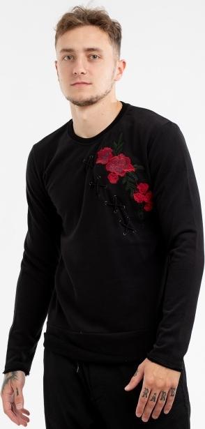Czarna bluza BREEZY z bawełny