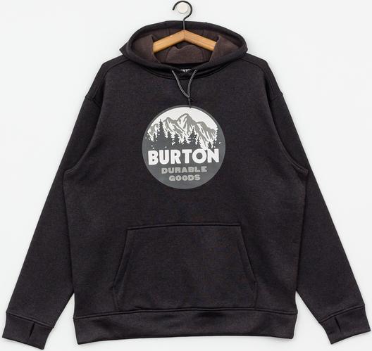 Czarna bluza Burton z nadrukiem