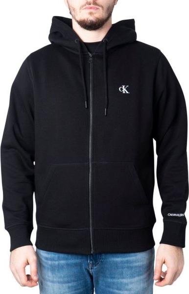 Czarna bluza Calvin Klein z bawełny