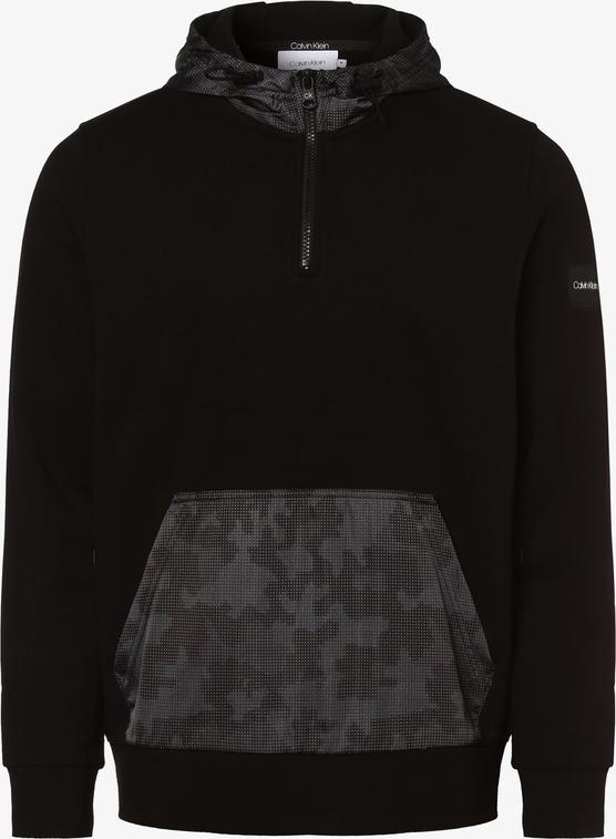 Czarna bluza Calvin Klein z tkaniny