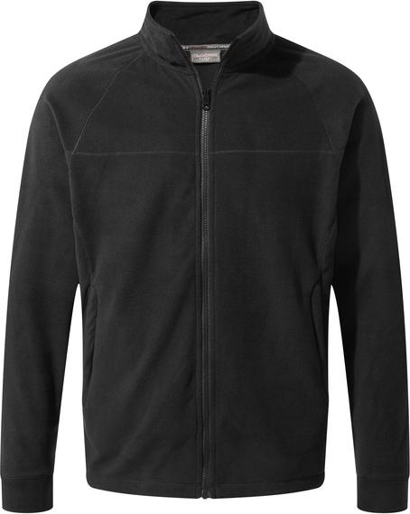 Czarna bluza Craghoppers z polaru w stylu casual