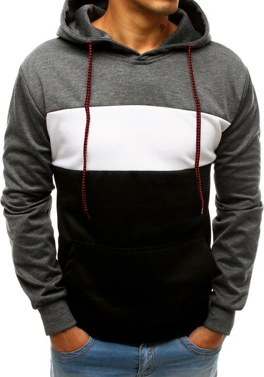 Czarna bluza Dstreet w młodzieżowym stylu