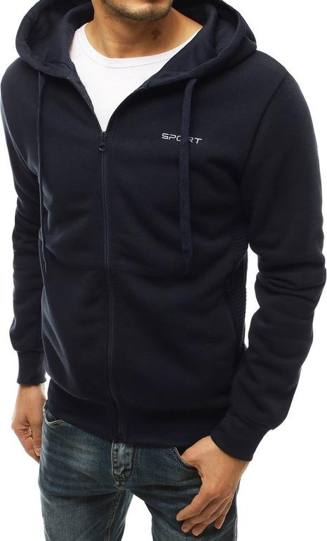 Czarna bluza Dstreet w młodzieżowym stylu z bawełny