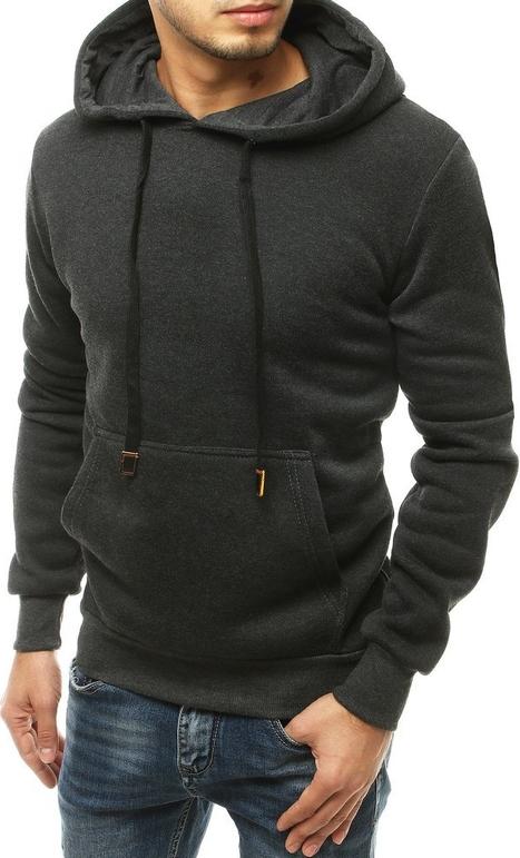 Czarna bluza Dstreet z bawełny w młodzieżowym stylu