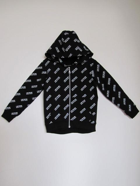 Czarna bluza dziecięca Lemika z bawełny