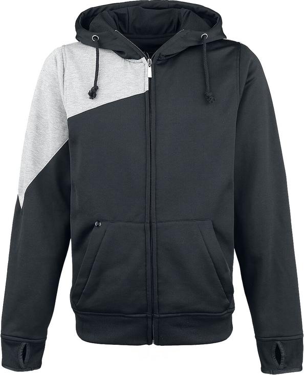 Czarna bluza Emp w młodzieżowym stylu z bawełny