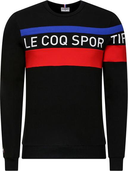 Czarna bluza Le Coq Sportif z bawełny