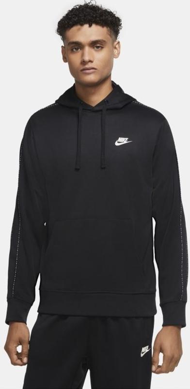 Czarna bluza Nike w młodzieżowym stylu