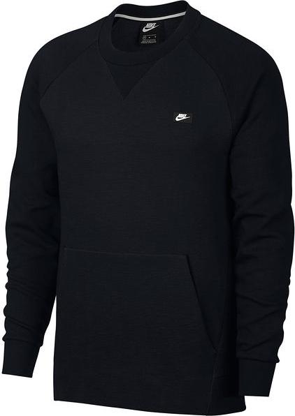 Czarna bluza Nike z dzianiny w street stylu