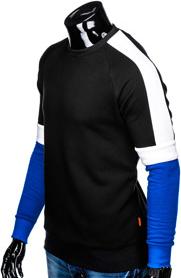 Czarna bluza Ombre Clothing