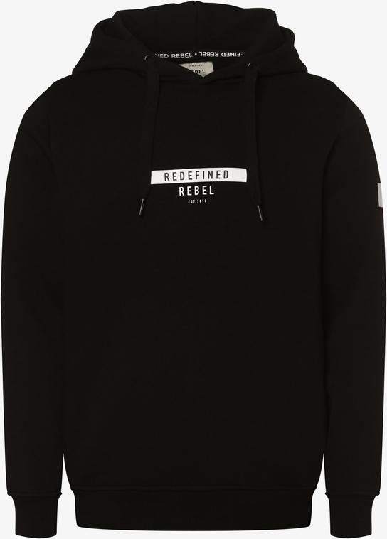 Czarna bluza Redefined Rebel w młodzieżowym stylu