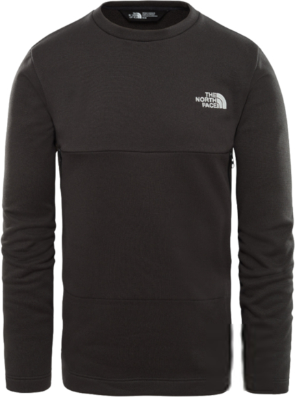 Czarna bluza The North Face z plaru
