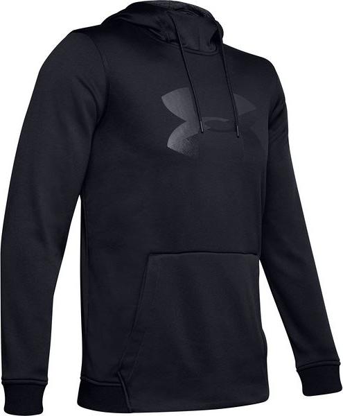 Czarna bluza Under Armour z dresówki