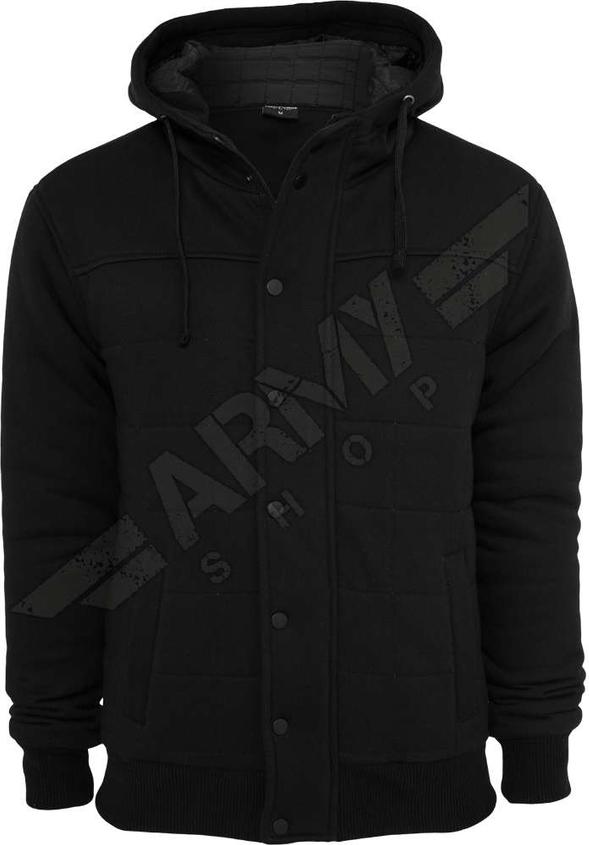 Czarna bluza Urban Classics w młodzieżowym stylu