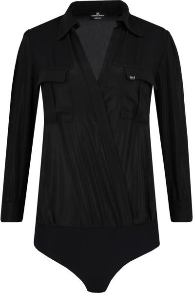 Czarna bluzka Elisabetta Franchi