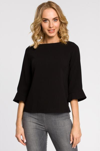 Czarna bluzka MOE