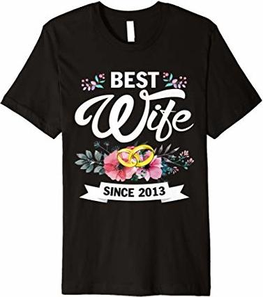 Czarna bluzka Wedding Graphic Tshirt z okrągłym dekoltem