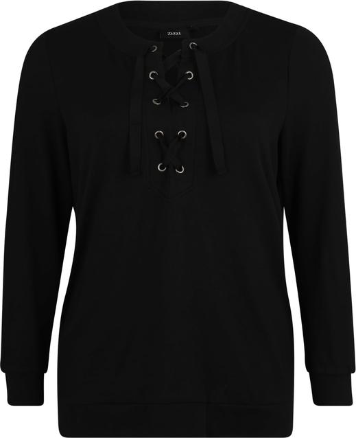 Czarna bluzka Zizzi