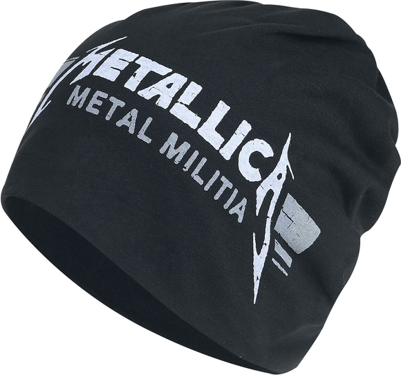 Czarna czapka Metallica