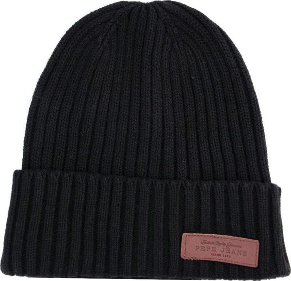 Czarna czapka Pepe Jeans