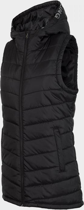 Czarna kamizelka Everhill długa w stylu casual